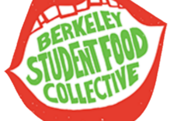berkeley student food collective logo with red lips