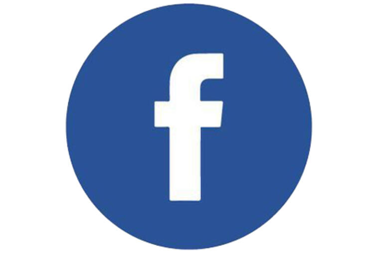 facebook logo with blue f