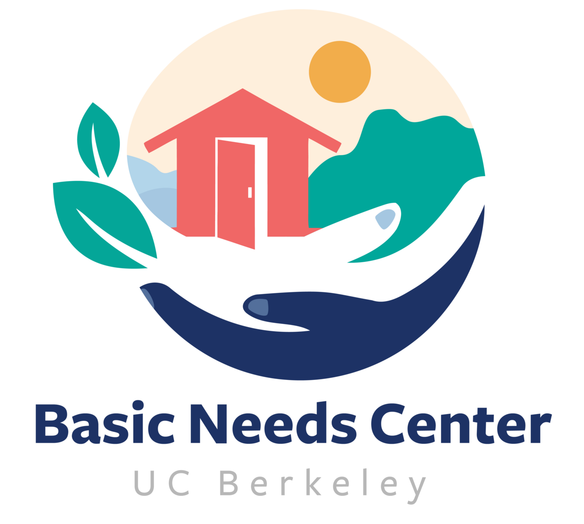 BNC logo of a house held by hands