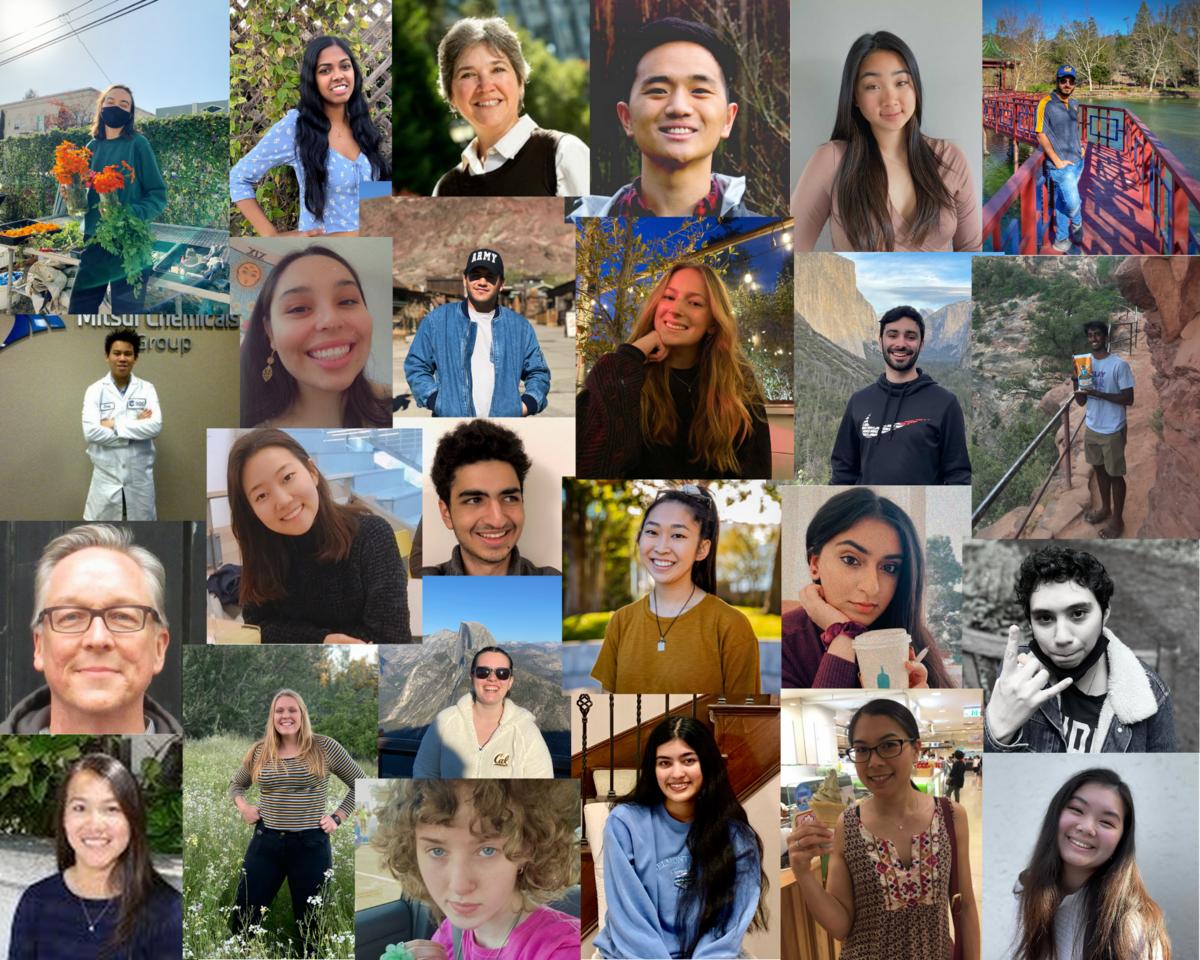 Spring 2021 volunteer collage